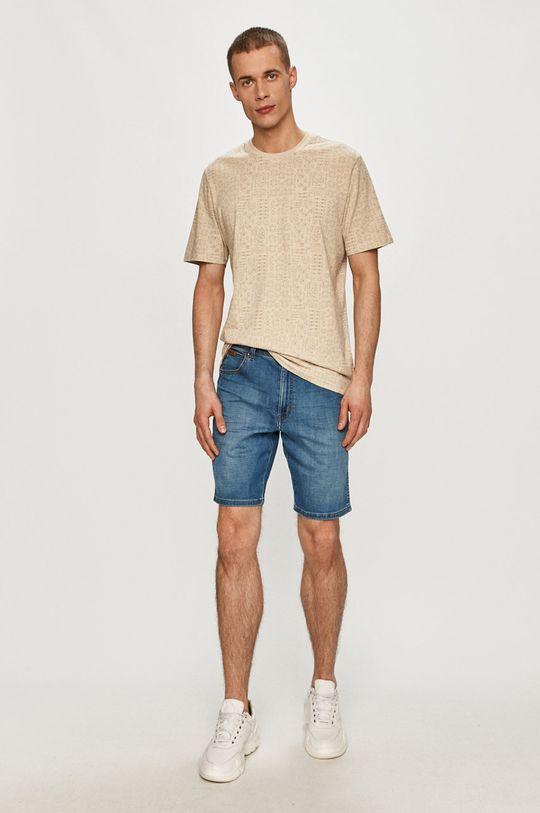 Wrangler - Džínové šortky modrá