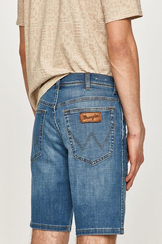 Wrangler - Džínové šortky  90% Bavlna, 1% Elastan, 9% Polyester