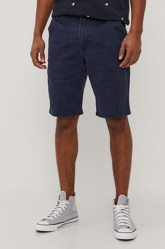 bleumarin Wrangler - Pantaloni scurti De bărbați