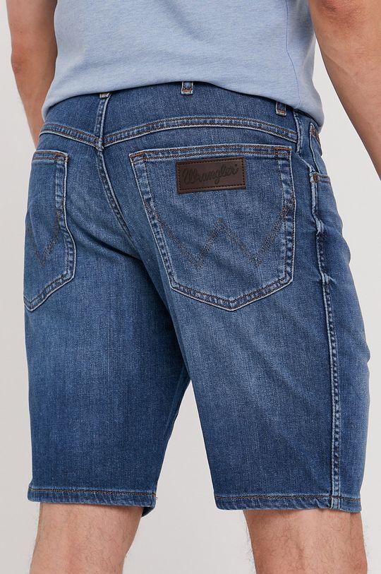 Wrangler - Rifľové krátke nohavice  90% Bavlna, 1% Elastan, 9% Polyester