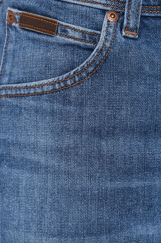 modrá Wrangler - Rifľové krátke nohavice