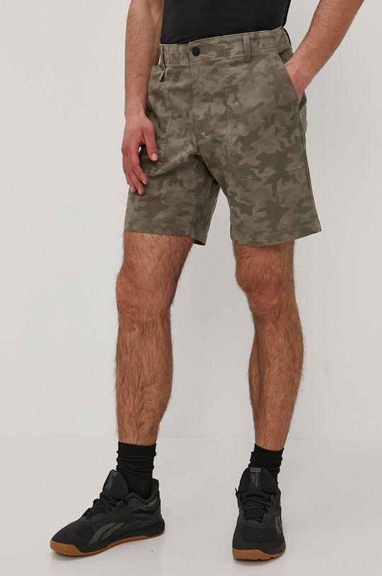 brudny zielony Columbia - Szorty jeansowe Męski