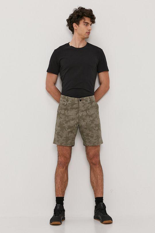 Columbia - Szorty jeansowe brudny zielony