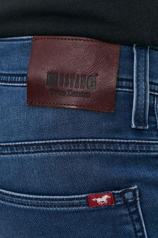 modrá Mustang - Rifľové krátke nohavice