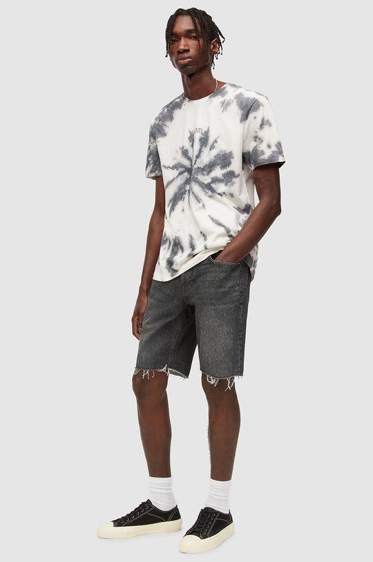 AllSaints - Džínové šortky  100% Bavlna