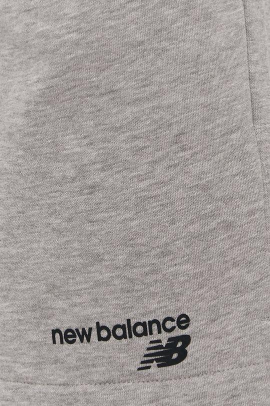 szary New Balance - Szorty