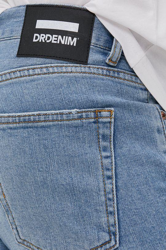 bledomodrá Dr. Denim - Rifľové krátke nohavice Clark