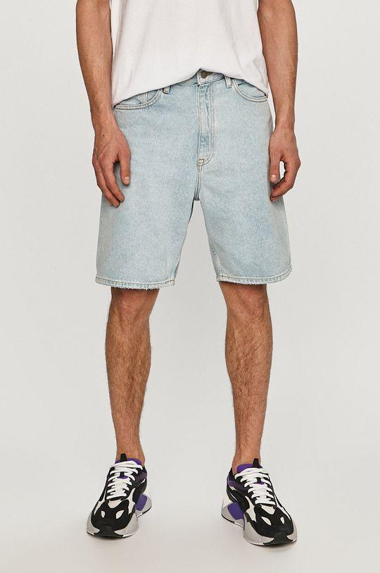 blady niebieski Dr. Denim - Szorty jeansowe Męski