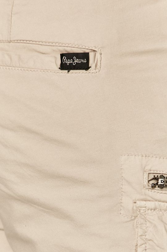 piaskowy Pepe Jeans - Szorty Expedit