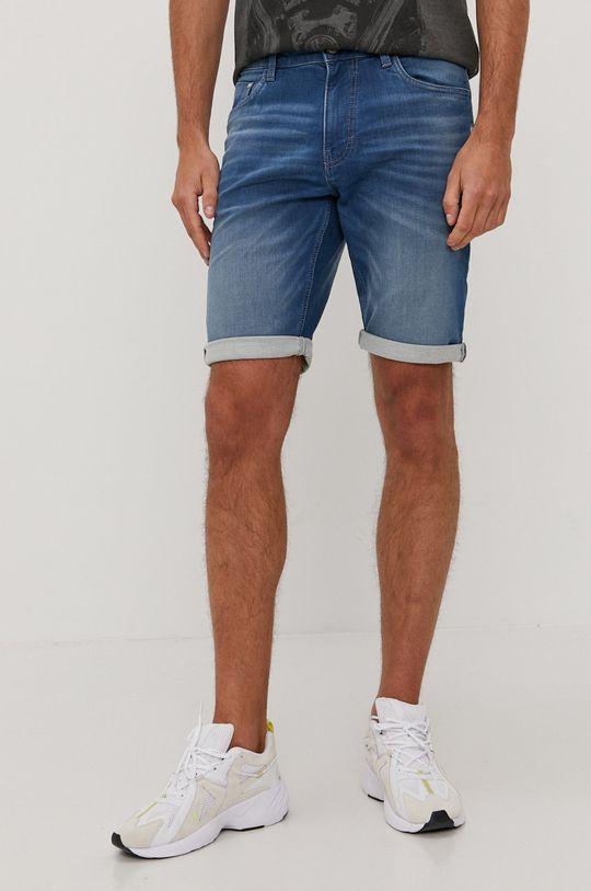 světle modrá Tom Tailor - Džínové šortky Pánský
