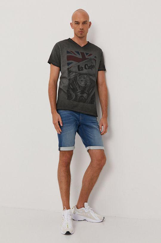 Tom Tailor - Džínové šortky světle modrá