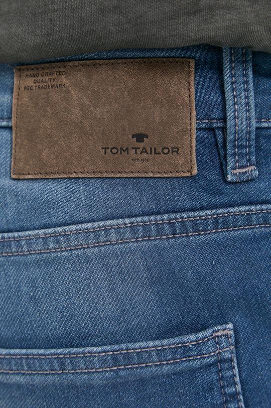 světle modrá Tom Tailor - Džínové šortky