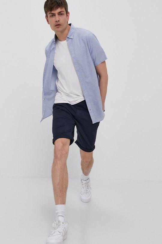 Tom Tailor - Pantaloni scurti bleumarin