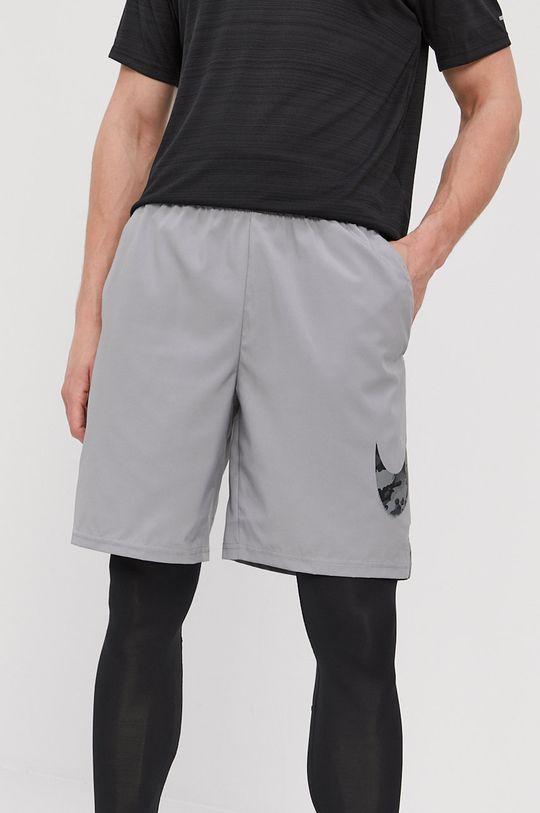 svetlosivá Nike - Šortky Pánsky