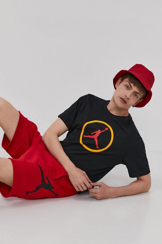 czerwony Jordan - Szorty Męski