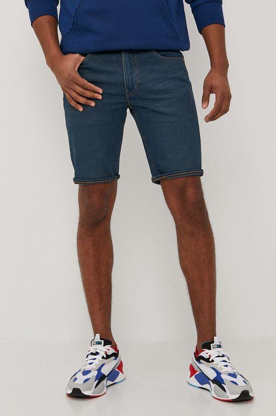 námořnická modř Levi's - Džínové šortky Pánský