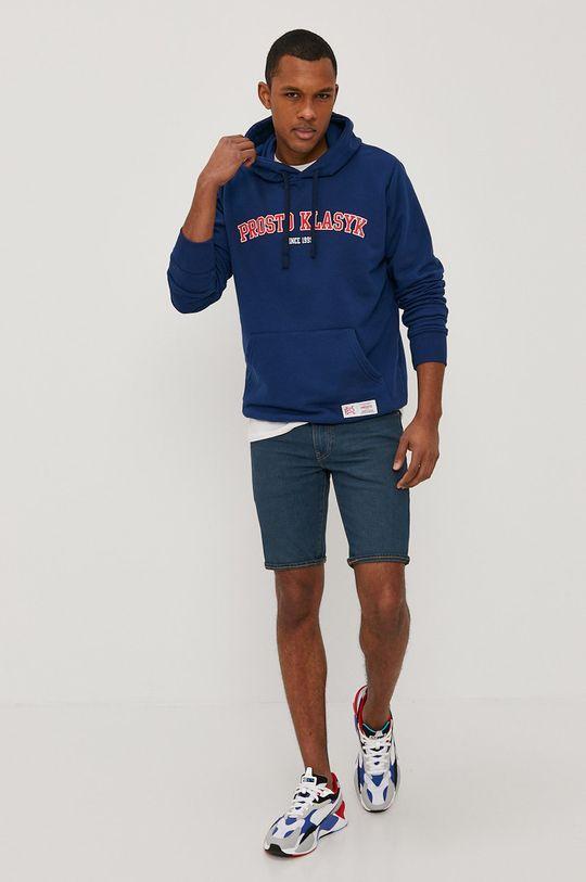 Levi's - Džínové šortky námořnická modř