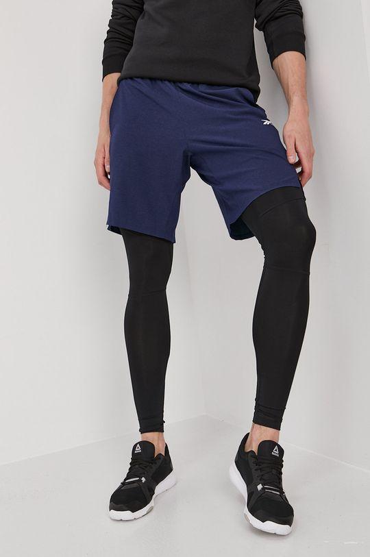 bleumarin Reebok - Pantaloni scurti De bărbați