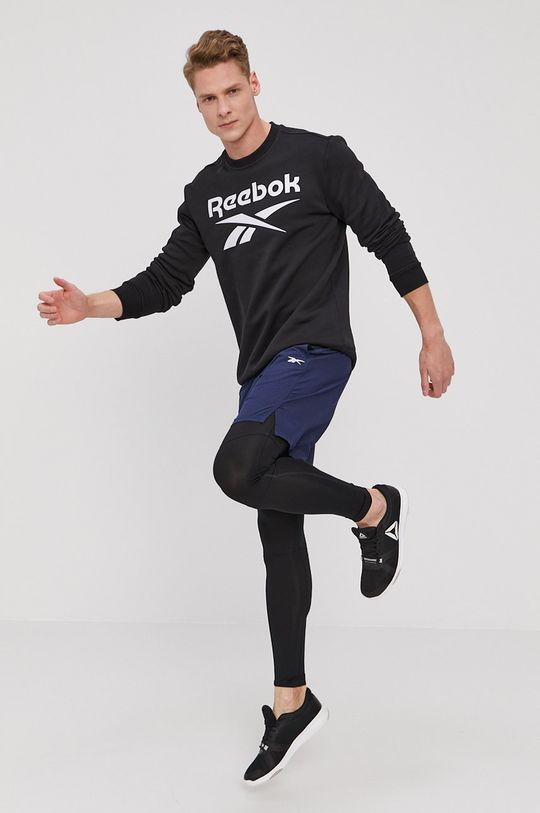Reebok - Pantaloni scurti bleumarin