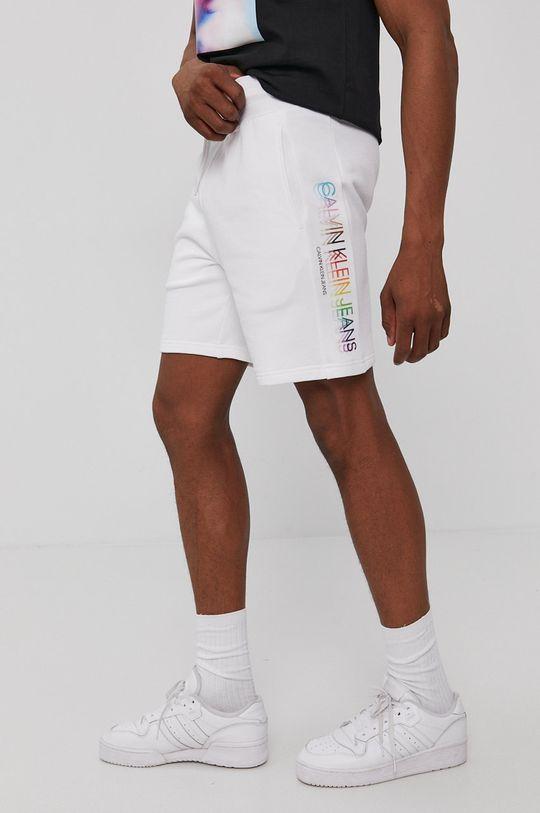 alb Calvin Klein Jeans - Pantaloni scurti De bărbați