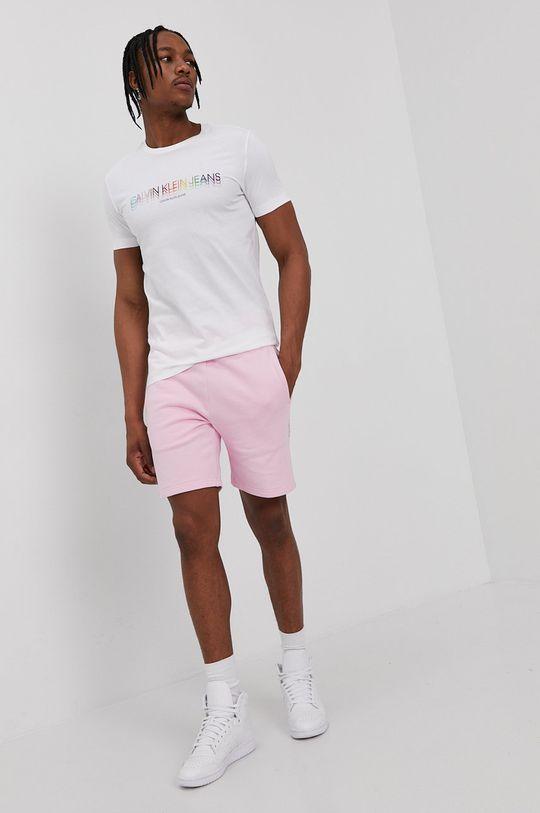 Calvin Klein Jeans - Szorty różowy