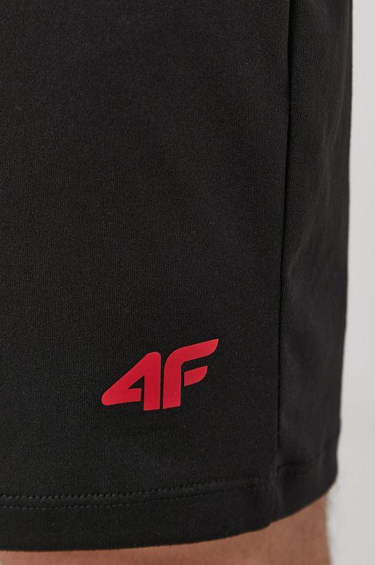 4F - Kraťasy černá