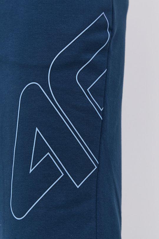 4F - Szorty stalowy niebieski