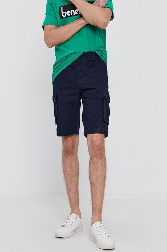 námořnická modř United Colors of Benetton - Kraťasy Pánský