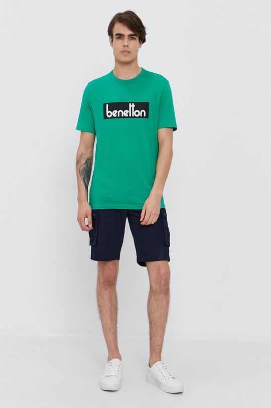 United Colors of Benetton - Kraťasy námořnická modř