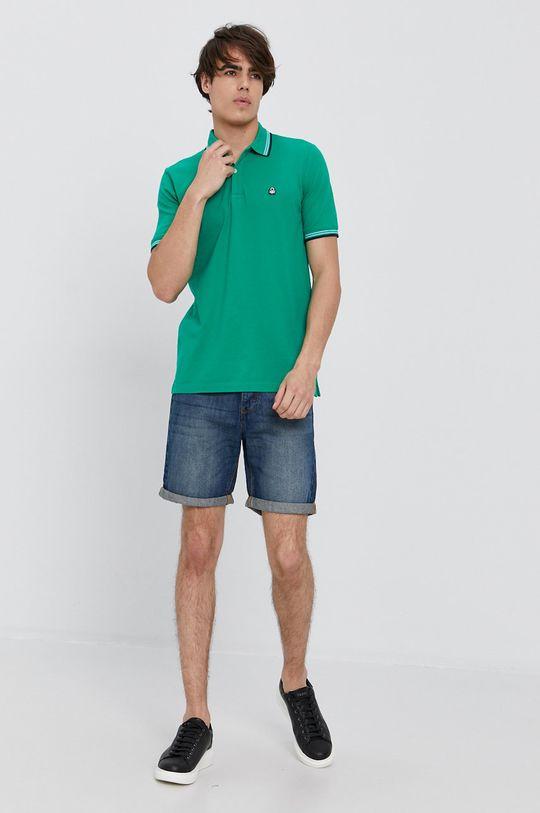 United Colors of Benetton - Szorty jeansowe niebieski