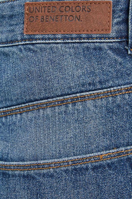 niebieski United Colors of Benetton - Szorty jeansowe
