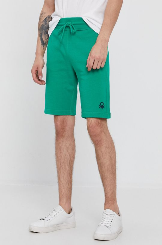 ostrá zelená United Colors of Benetton - Kraťasy Pánský