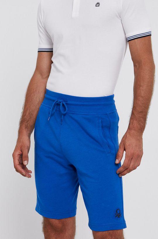 modrá United Colors of Benetton - Kraťasy Pánský