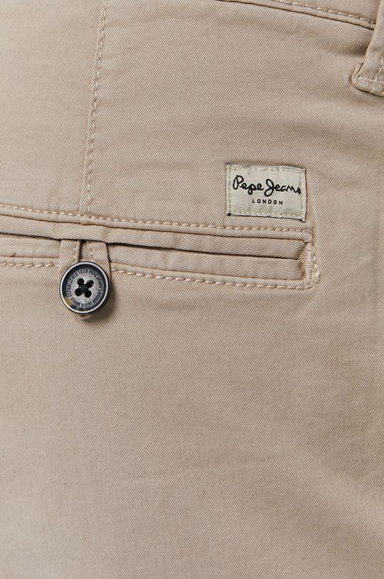 béžová Pepe Jeans - Kraťasy