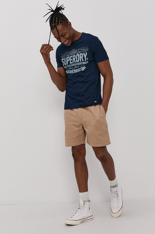 Superdry - Szorty beżowy