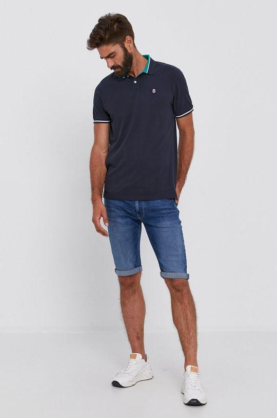 Pepe Jeans - Džínové šortky Cash modrá