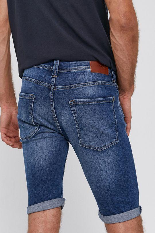 Pepe Jeans - Džínové šortky Cash  Podšívka: 35% Bavlna, 65% Polyester Hlavní materiál: 98% Bavlna, 2% Elastan