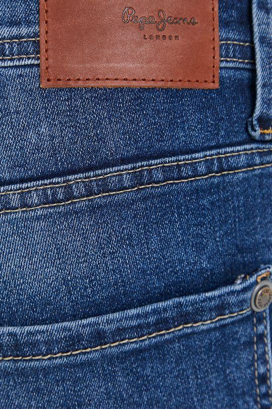 modrá Pepe Jeans - Džínové šortky Cash