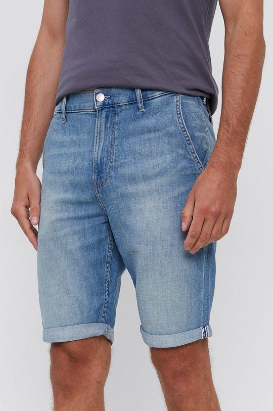 niebieski Calvin Klein Jeans - Szorty jeansowe Męski