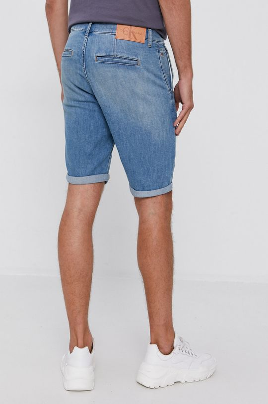 Calvin Klein Jeans - Szorty jeansowe 65 % Bawełna, 22 % Len, 13 % Poliester