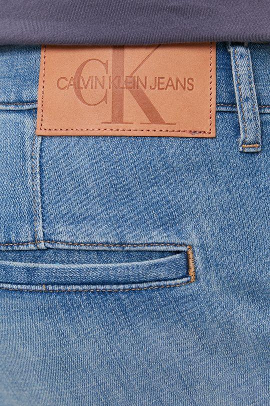 niebieski Calvin Klein Jeans - Szorty jeansowe