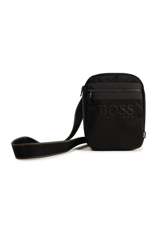 czarny Boss - Saszetka dziecięca Chłopięcy