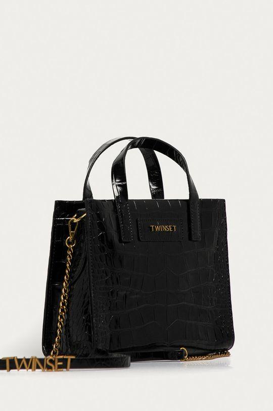 Twinset - Kožená kabelka  100% Přírodní kůže