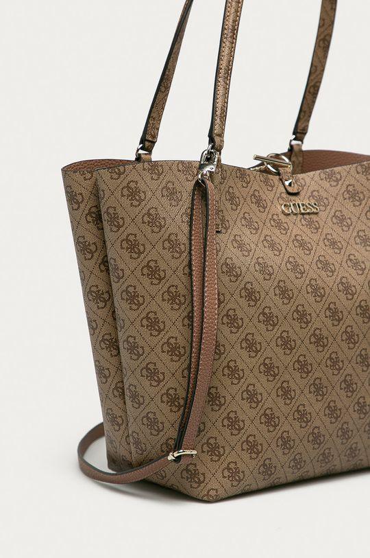 Guess - Obojstranná kabelka  Podšívka: 20% Bavlna, 80% Polyester Základná látka: 100% PU