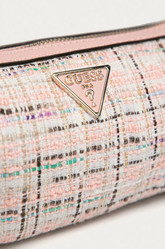 Guess - Kabelka  Podšívka: 20% Bavlna, 80% Polyester Základná látka: 80% Polyester, 20% PU