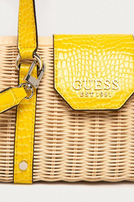 Guess - Torebka żółty