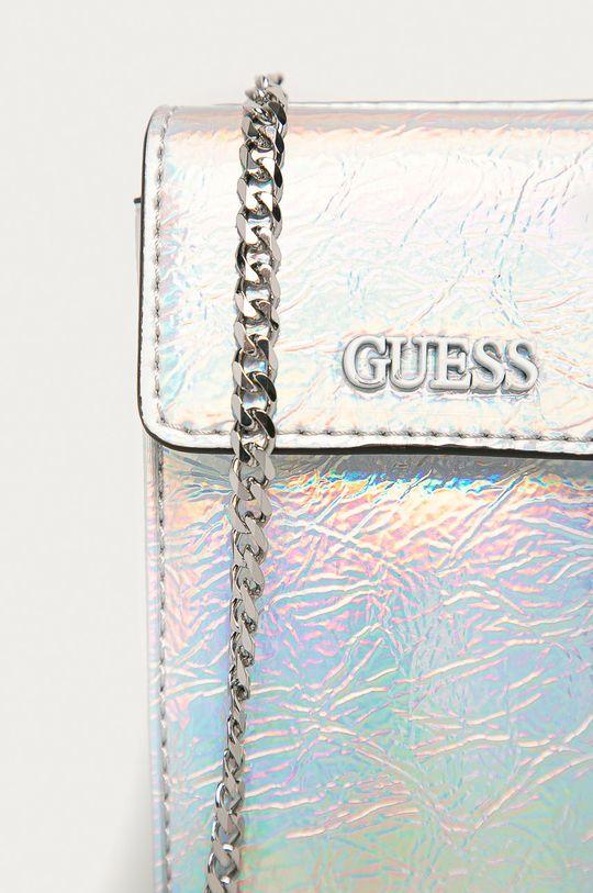 Guess - Obal na telefón stříbrná