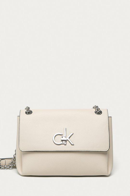 kremowy Calvin Klein - Torebka Damski