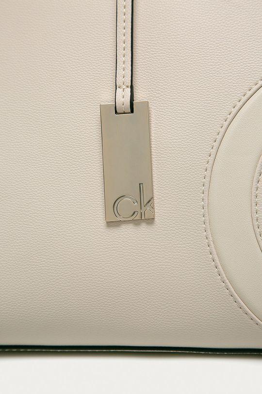 Calvin Klein - Kabelka smetanová
