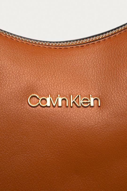 Calvin Klein - Torebka złoty brąz